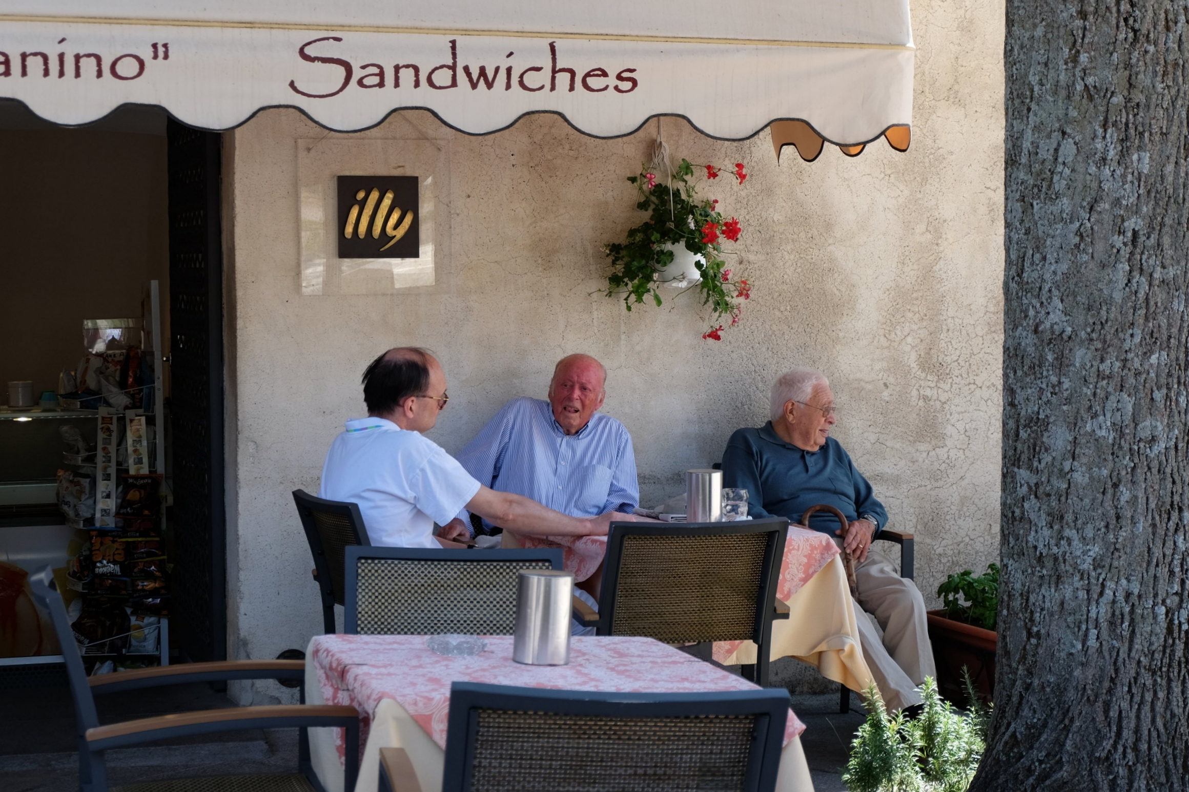 Lifestyle in Ravello.