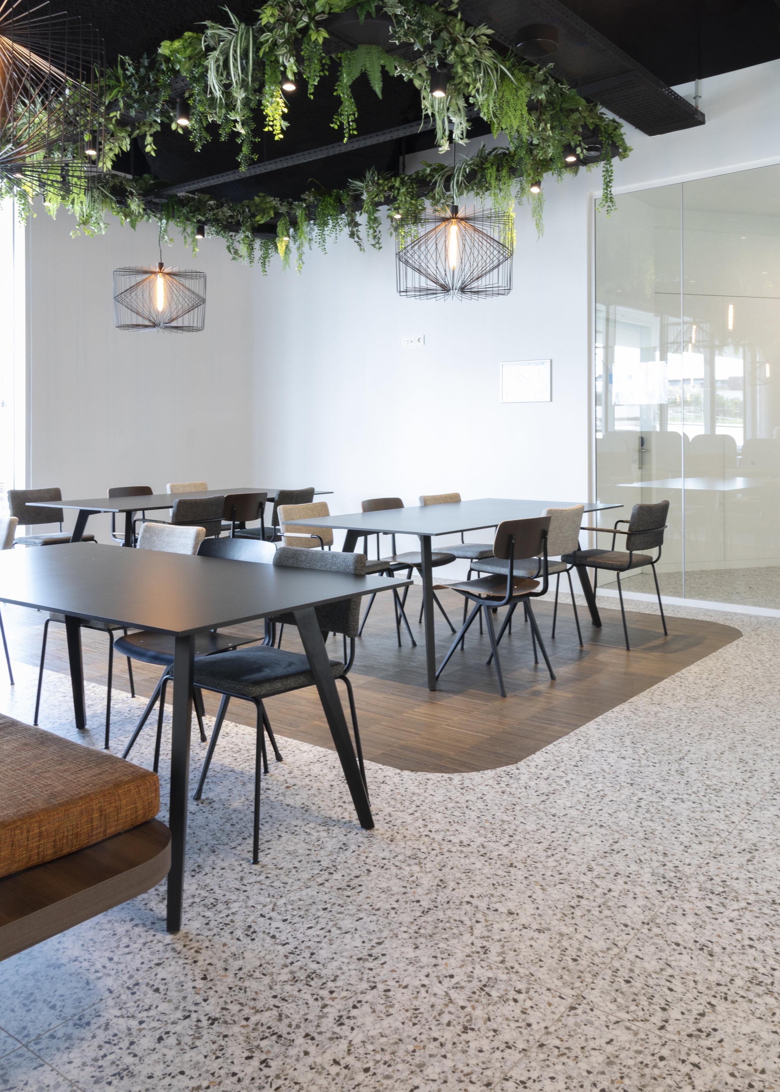Digital plan for meeting room design