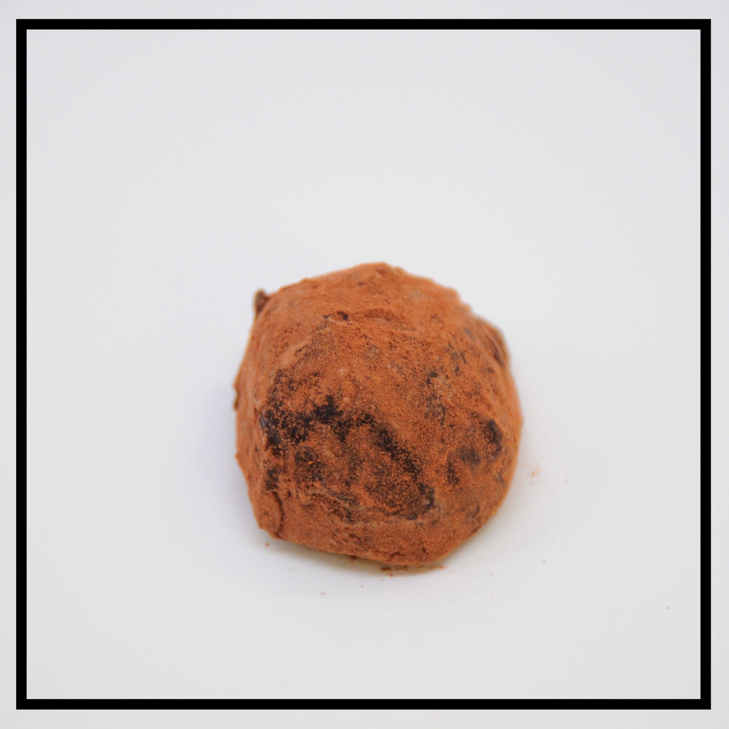 COCOA    The French truffle: dark chocolate ganache dusted with cocoa
