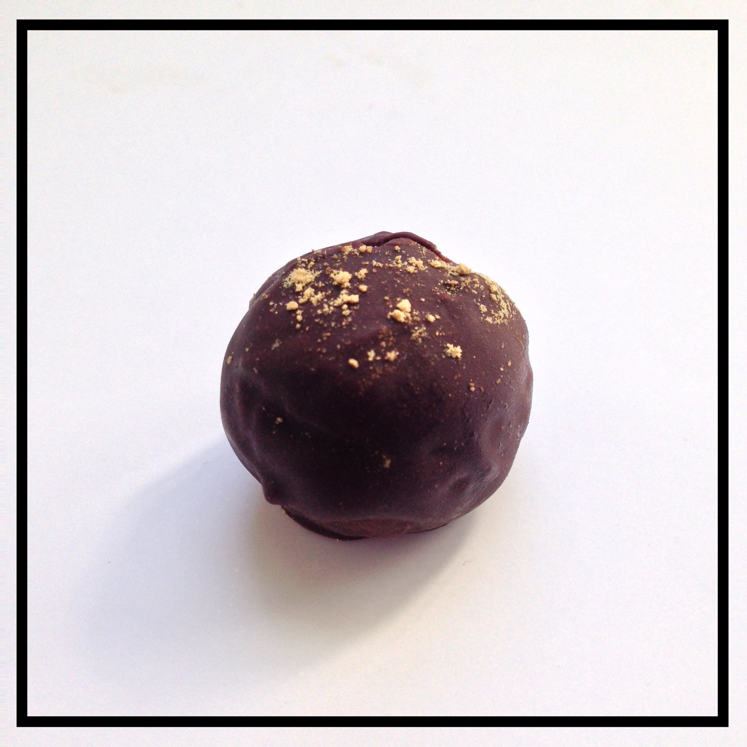 GINGER   Chocolate ganache infused with freshly grated ginger