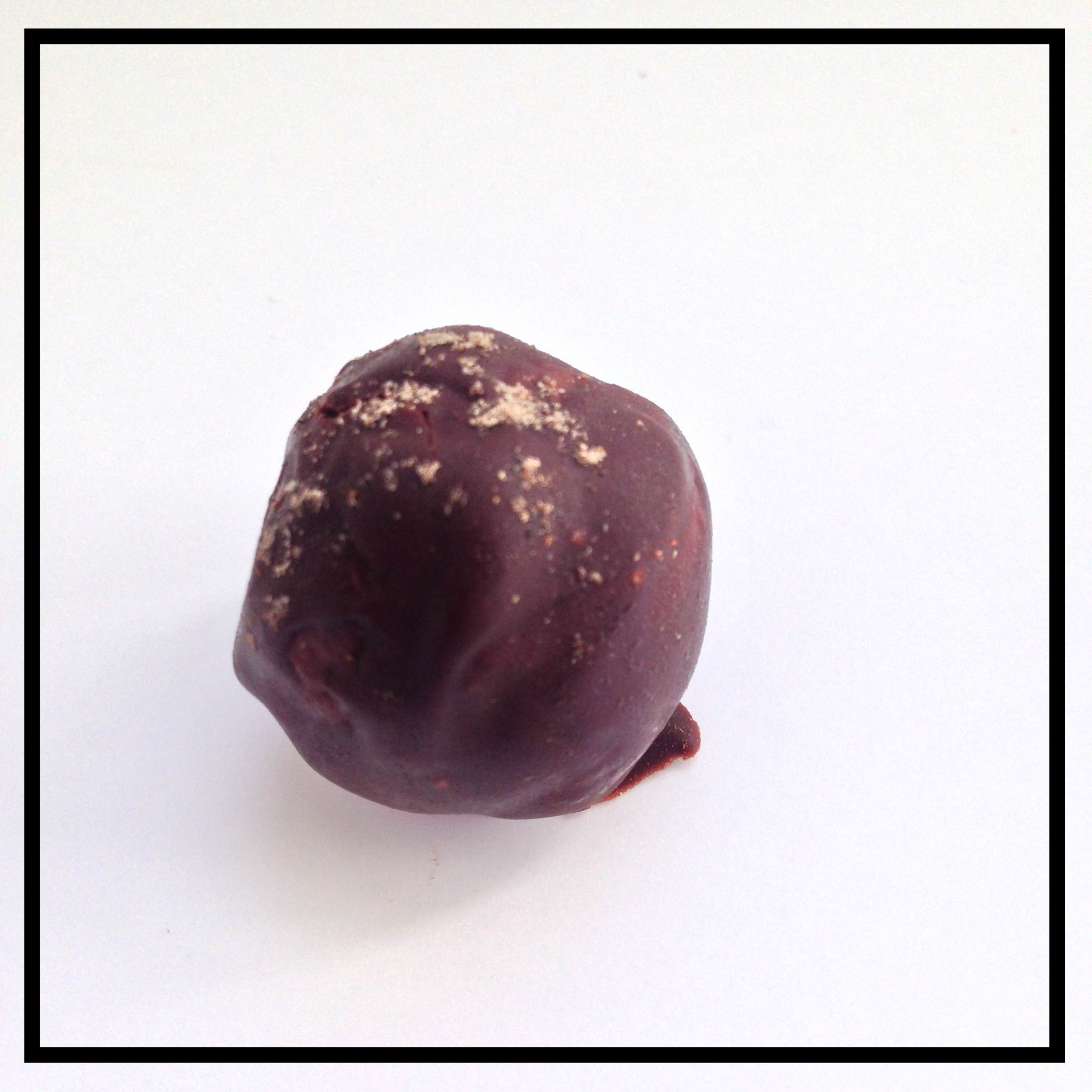 CARDAMOM   Grains of Paradise, these aromatic pods and seeds are infused into chocolate ganache