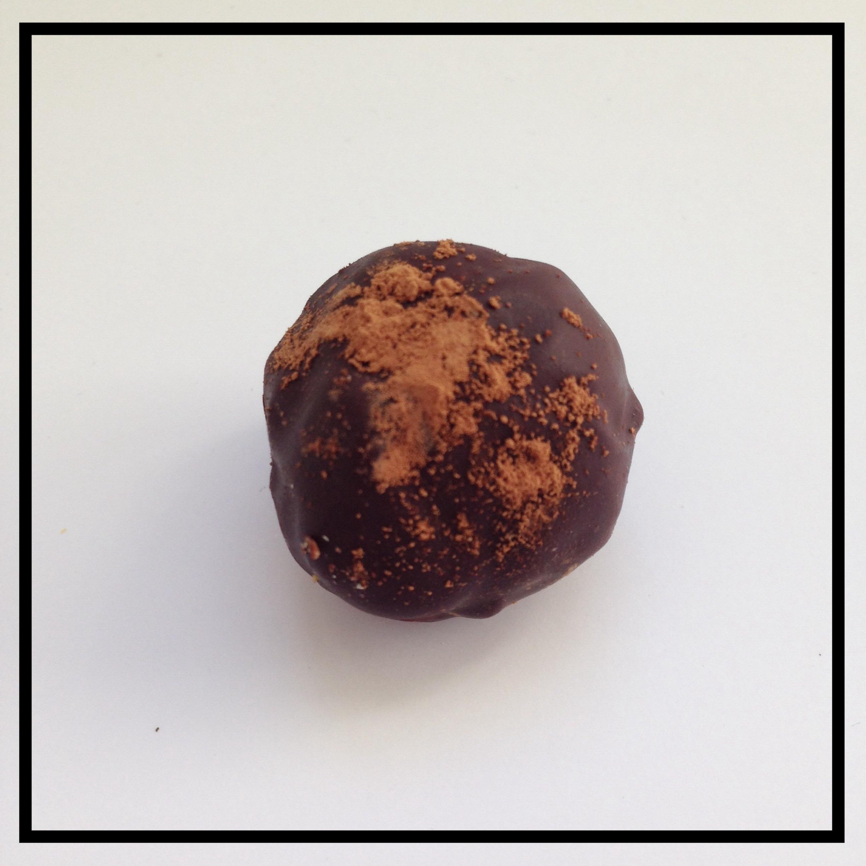 IRISH CREAM   Chocolate ganache mixed with Irish Cream liqueur