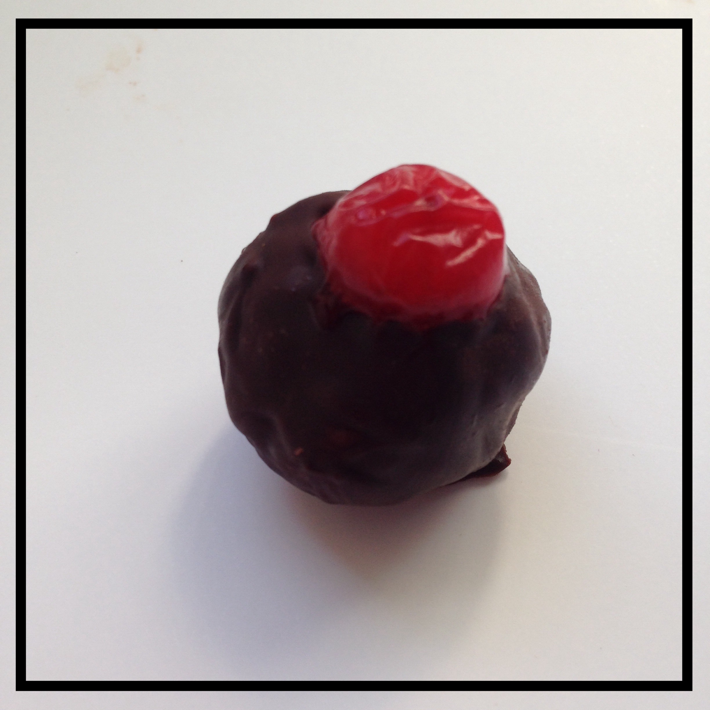CRANBERRY   Fresh cranberry infused into chocolate ganache