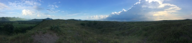 The view outside the Pro Natura raptor banding station.
