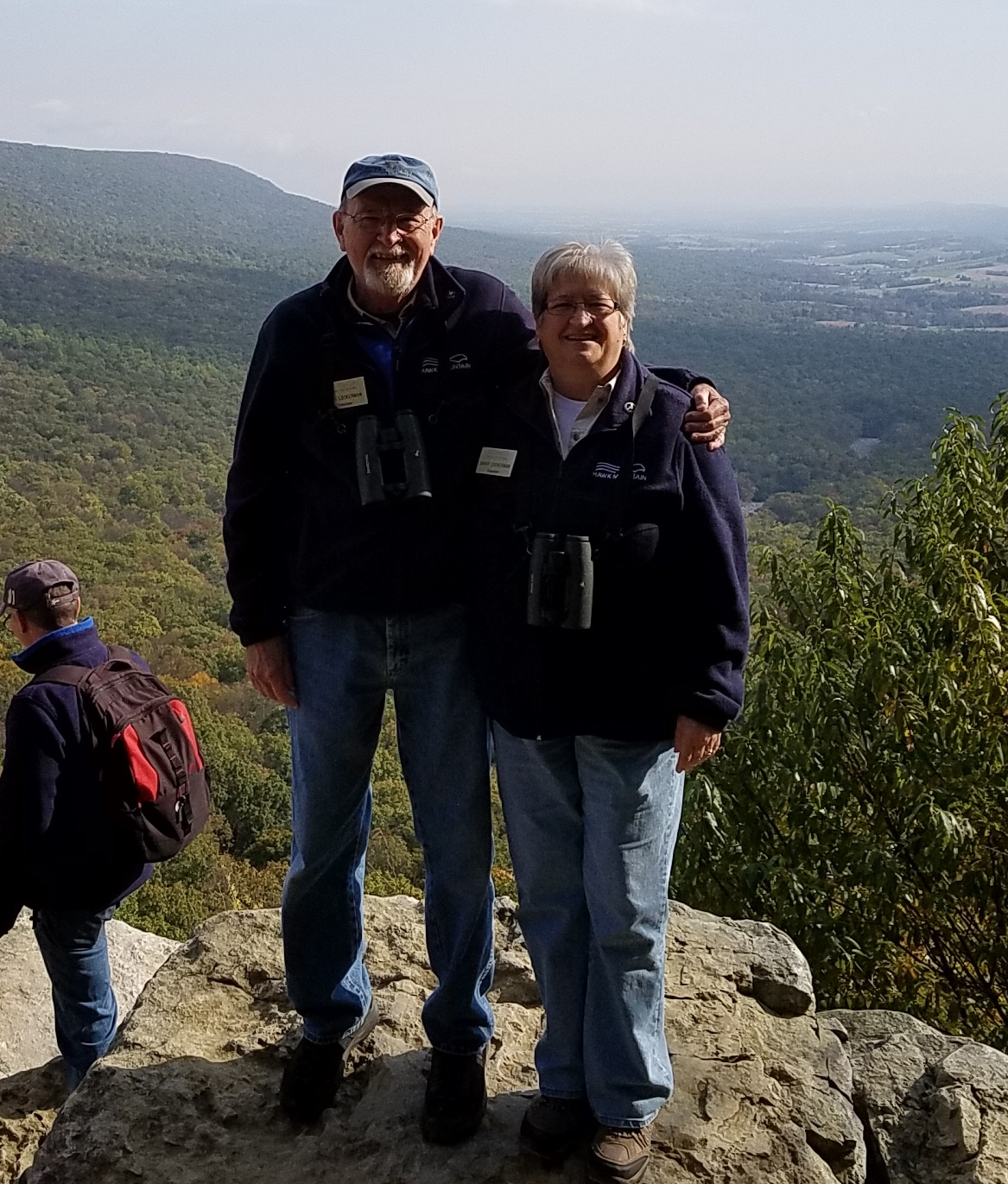 Gary and Sandy at South Lookout