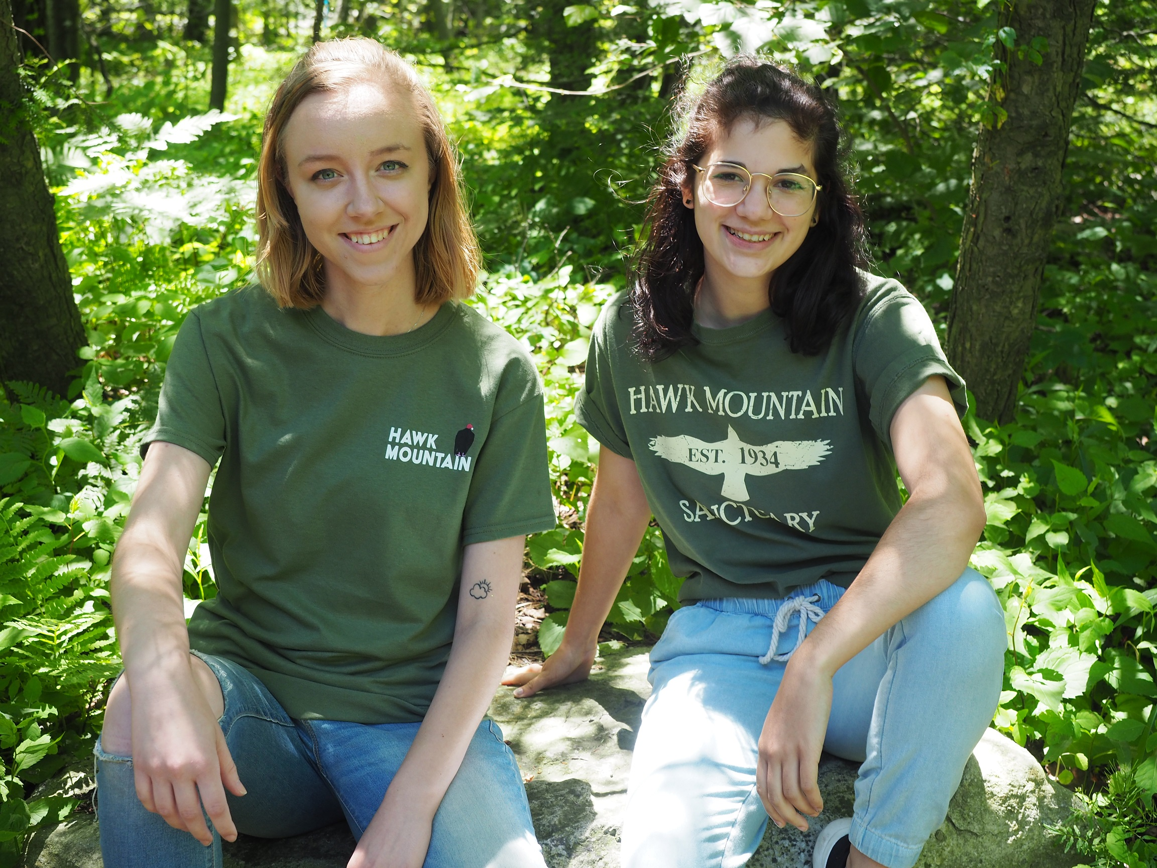 Hannah Hornung and Gianna Destefani, Summer 2019 Communications Interns