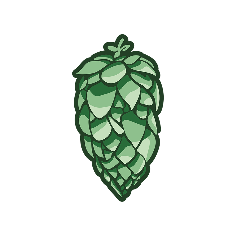 DUAL PURPOSE    Alpha:  12-13% /  Beta:  4-5%  Oil (ml/100):  1.6 /  Storage:  Good   Profile:  Tropical fruit, stone fruit, herbal, spicy   History:  Known for its sweet fruit forward style, this found hop from Gooding Farms and named for its state was released in Idaho in 2017.