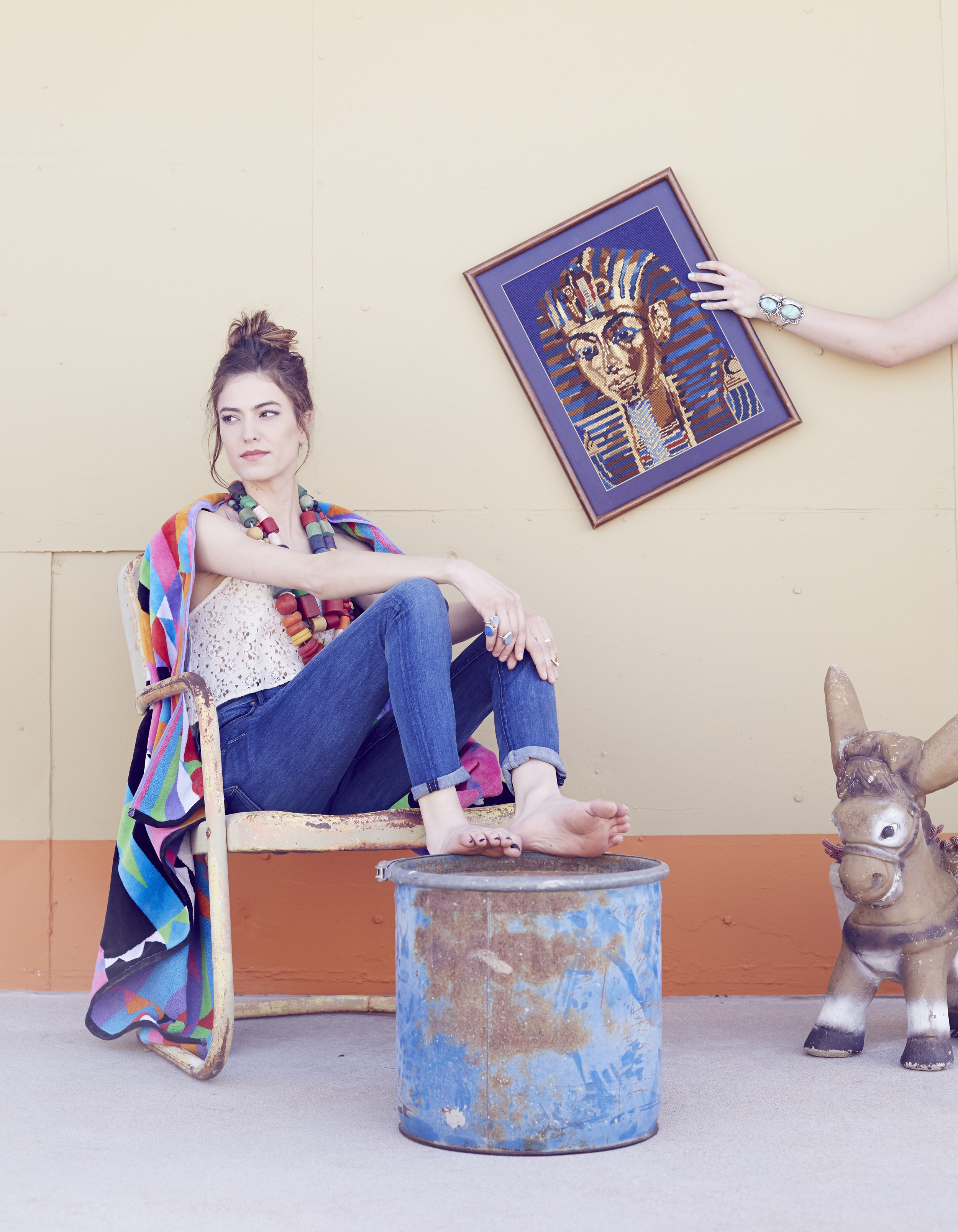 The MiA Project, featuring  mother denim  and  Pendleton