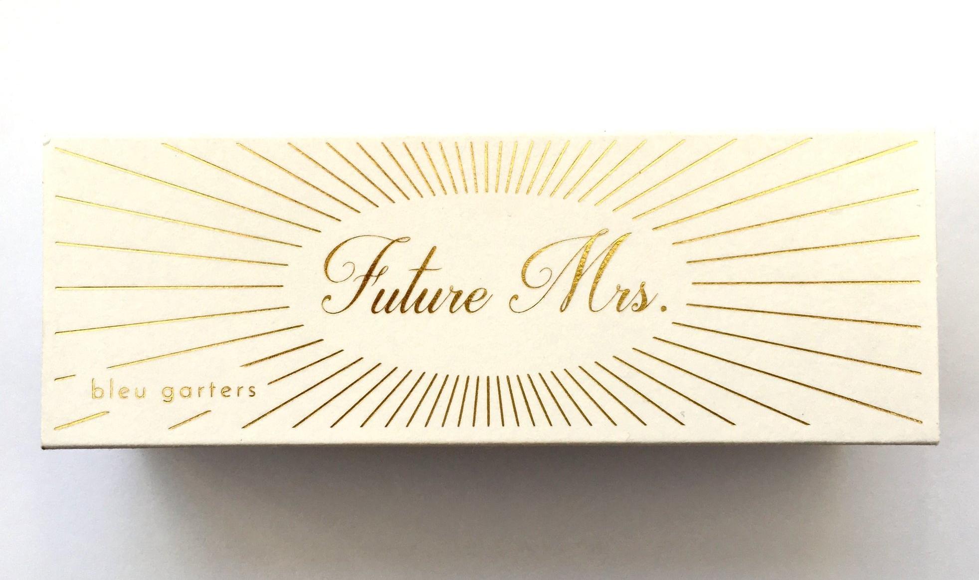 Future Mrs. gift box