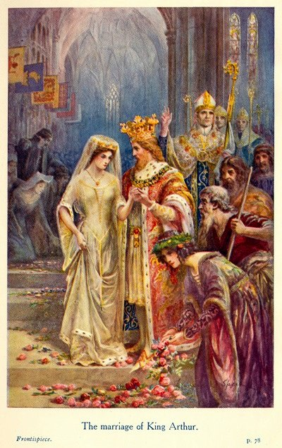 The Wedding of Arthur and Guinevere , Speed Lancelot