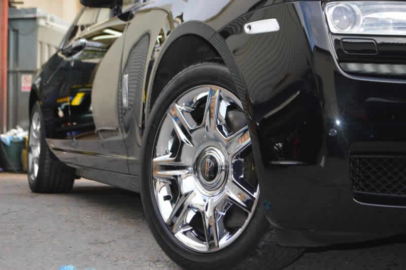 rolls royce bumper damage repair