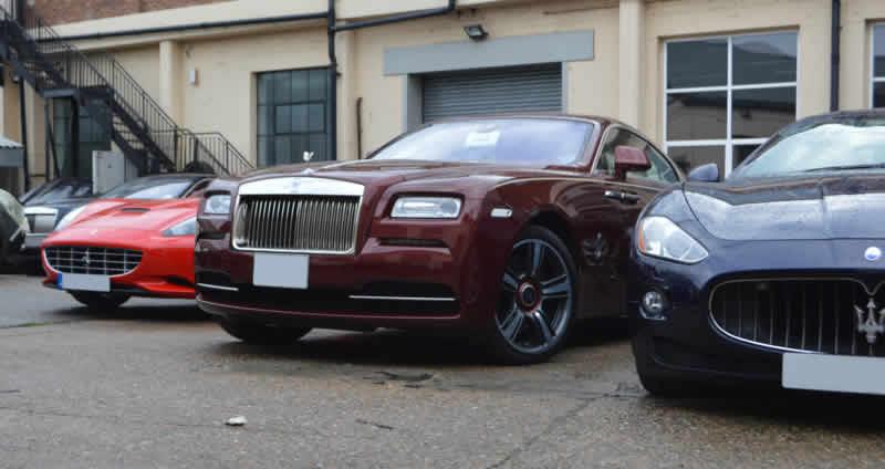luxury car repair in london