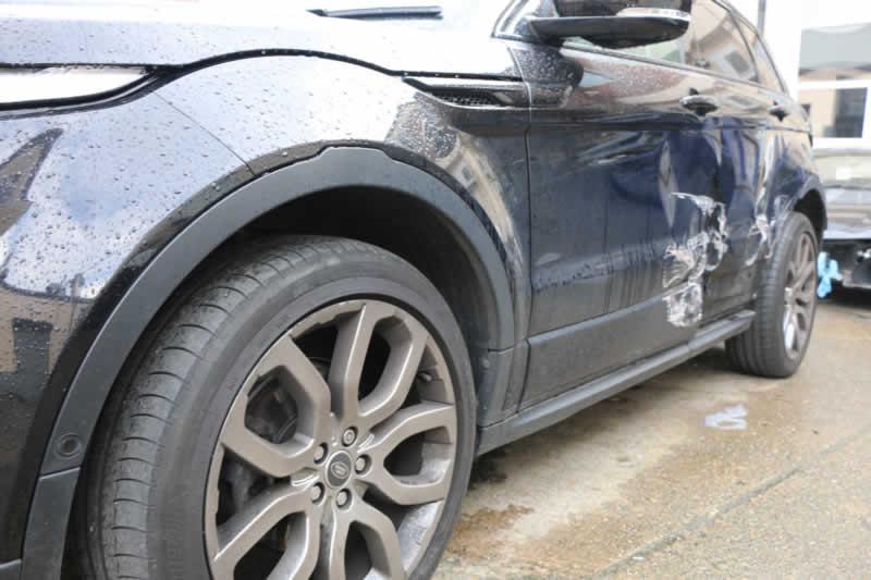 car door damage repair