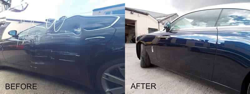 Rolls Royce Approved Bodyshop