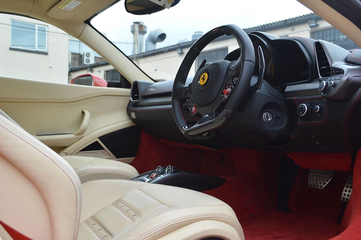 Ferrari Accident Repair