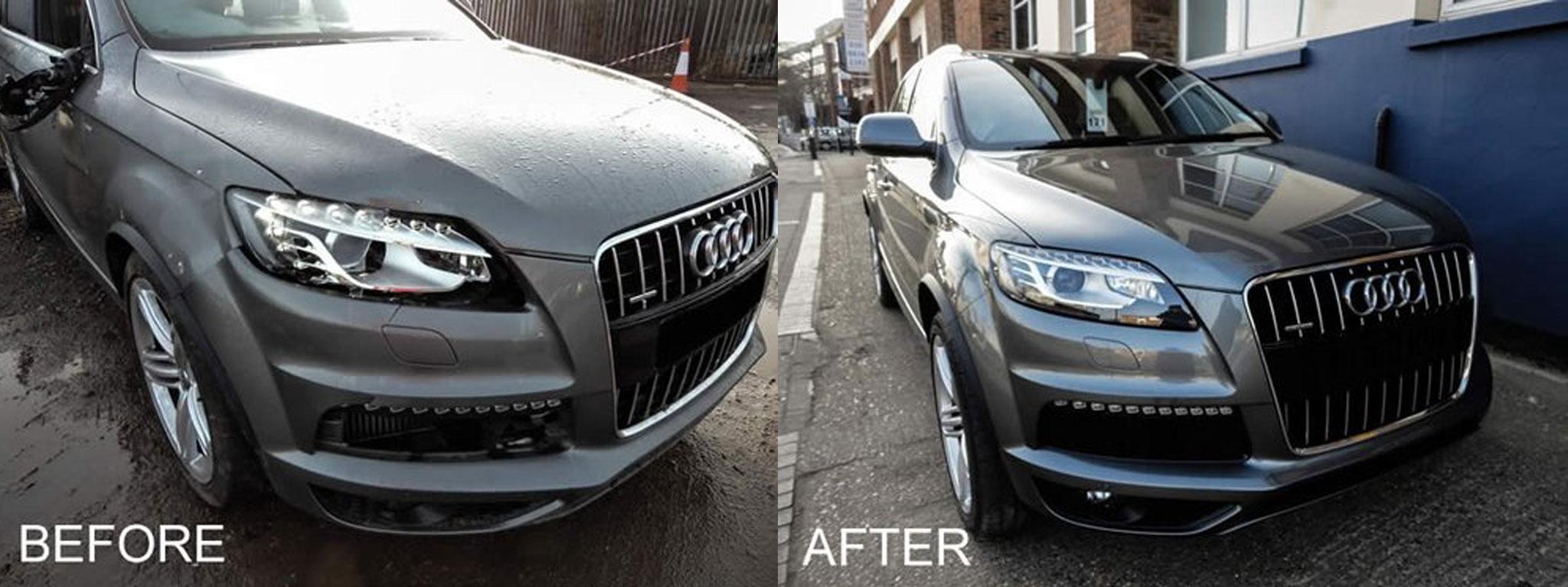 Audi scatch repair