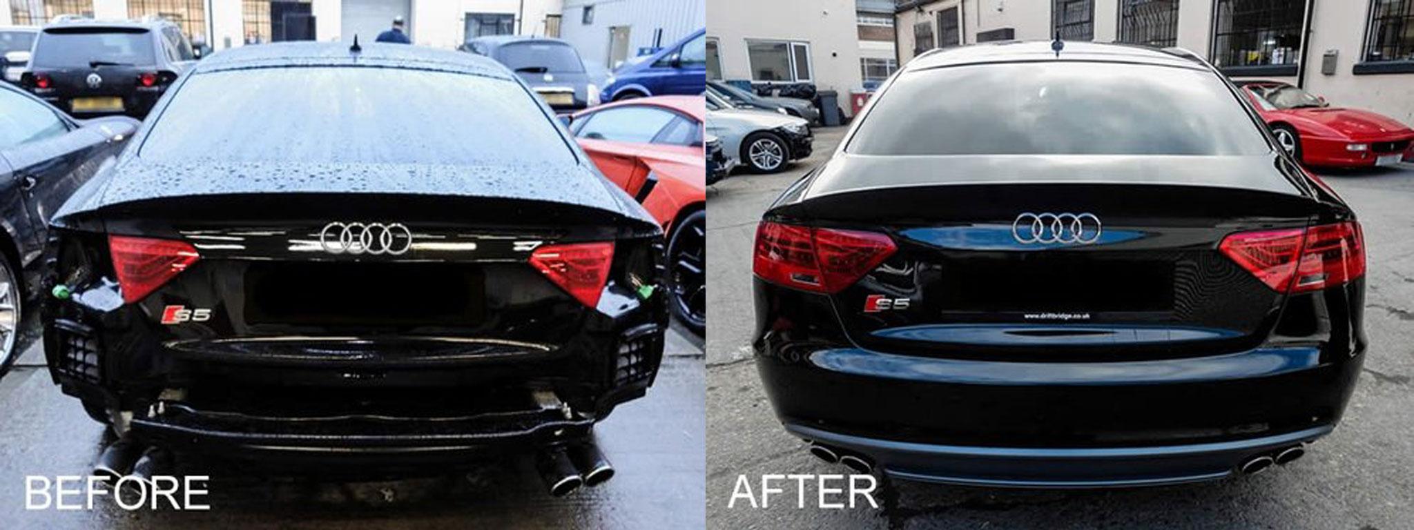 Audi damage repair