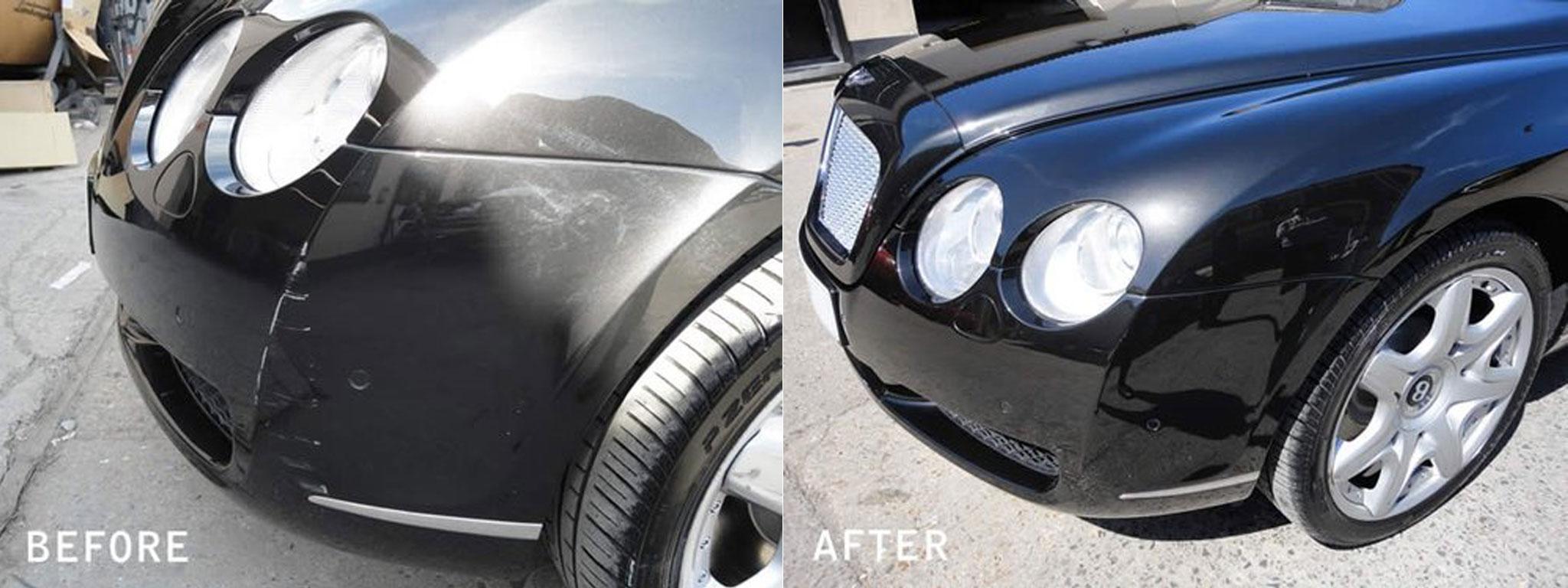 Bentley Bumper repair