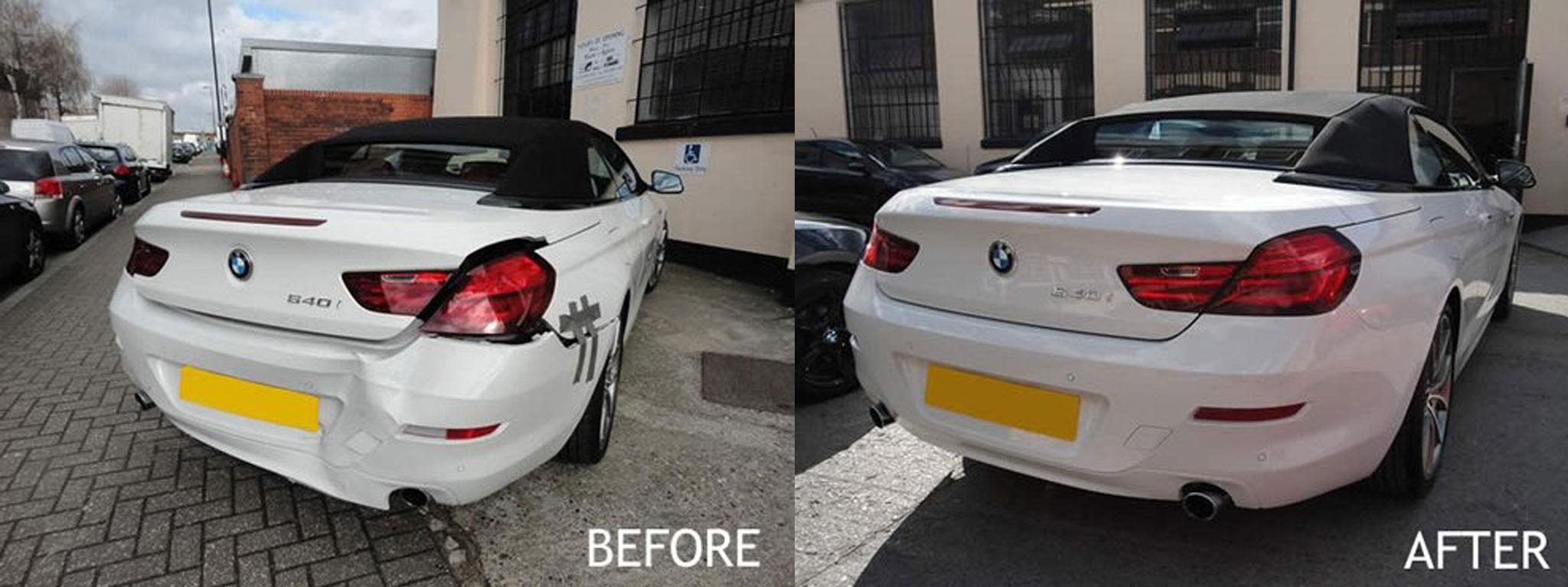 BMW damage repair
