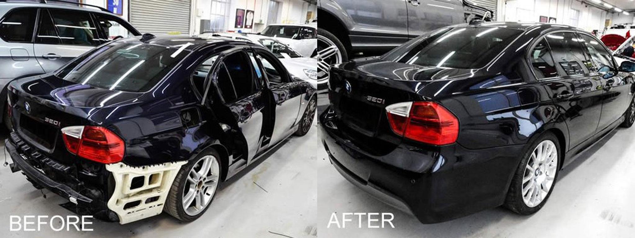 BMW scratch repair