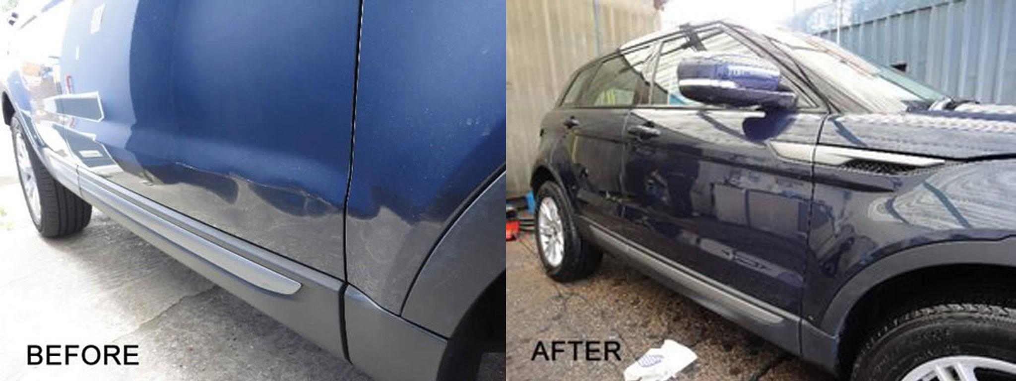 Range Rover scratch repair
