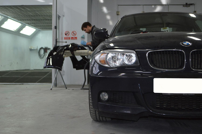 BMW crash repair