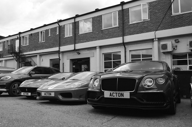 supercar bodyshop London