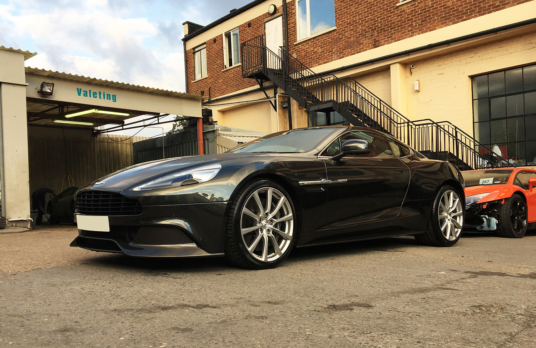 Aston Martin bodyshop