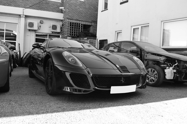 Ferrari bodyshop