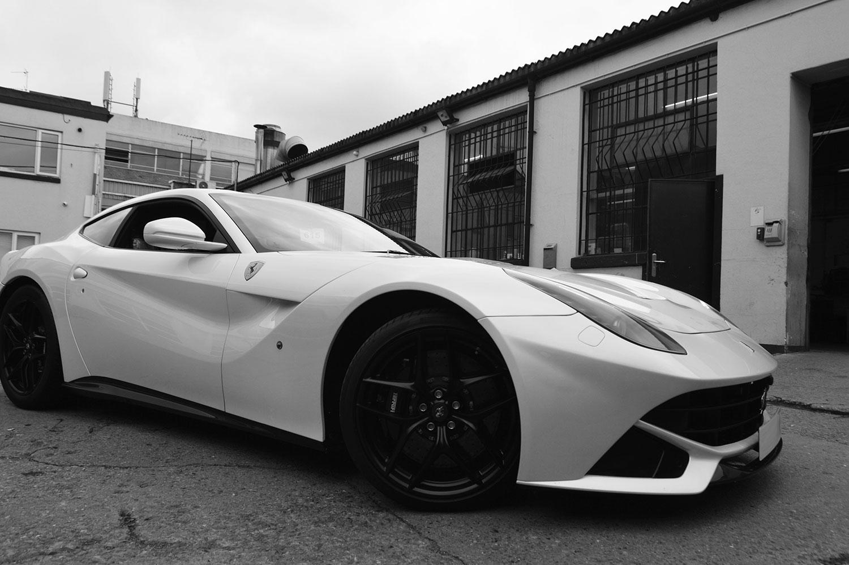 Ferrari scratch repair