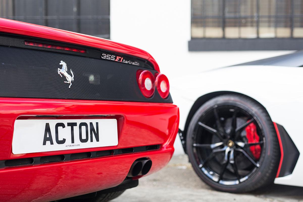 Ferrari Bodyshop London