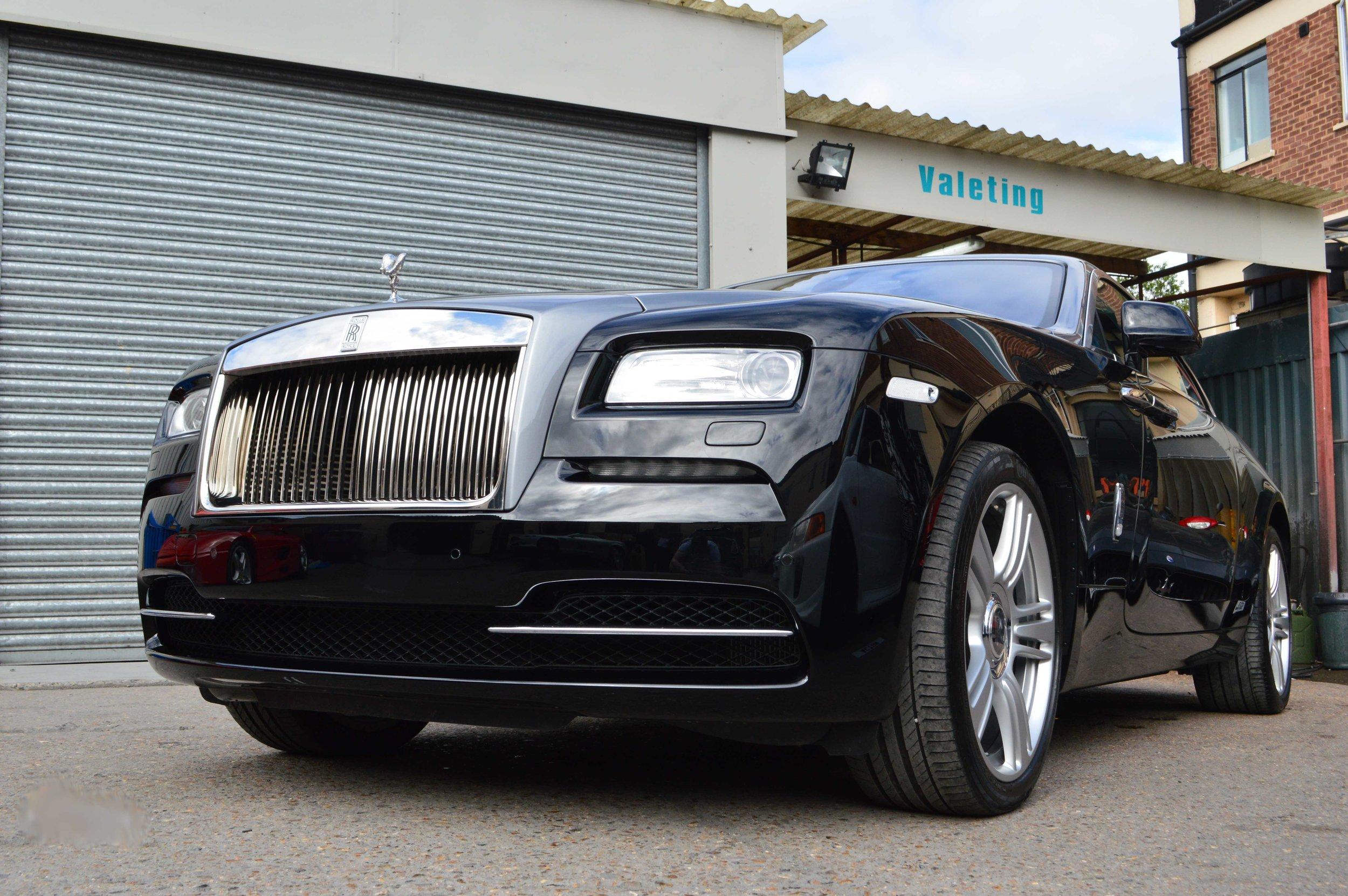 Rolls Royce bodyshop