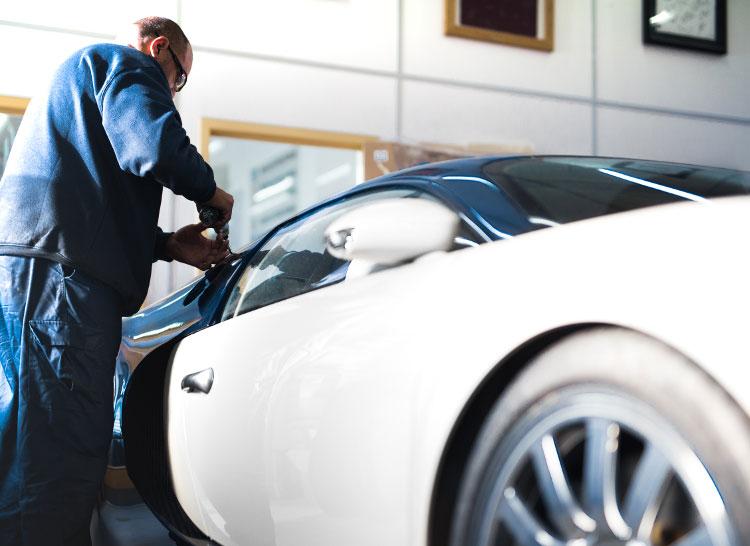 Bugatti bodyshop in London.jpg