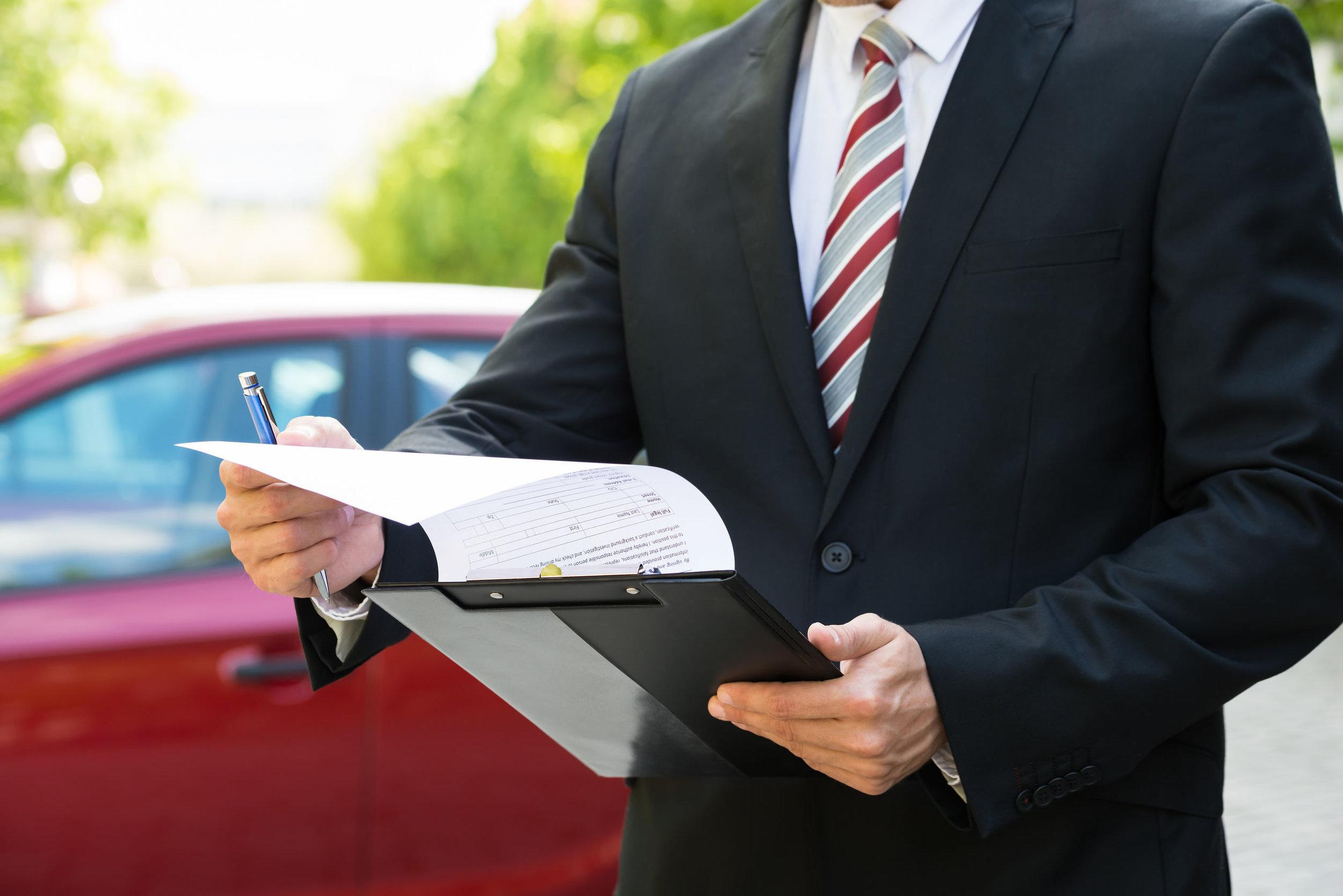 Lease Car Repair and Handback Service