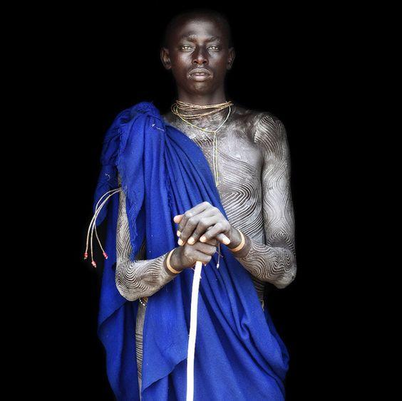 By Mario Gerth.Suri Tribe. Ethiopia.