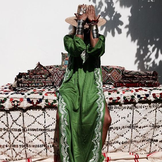 Ten years ago we met, still one of my favorite contemporary muse. Love you Sofia. #bakchiclabel #morocco #kaftan #berberjewelry