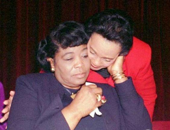 Betty Shabazz & Coretta King