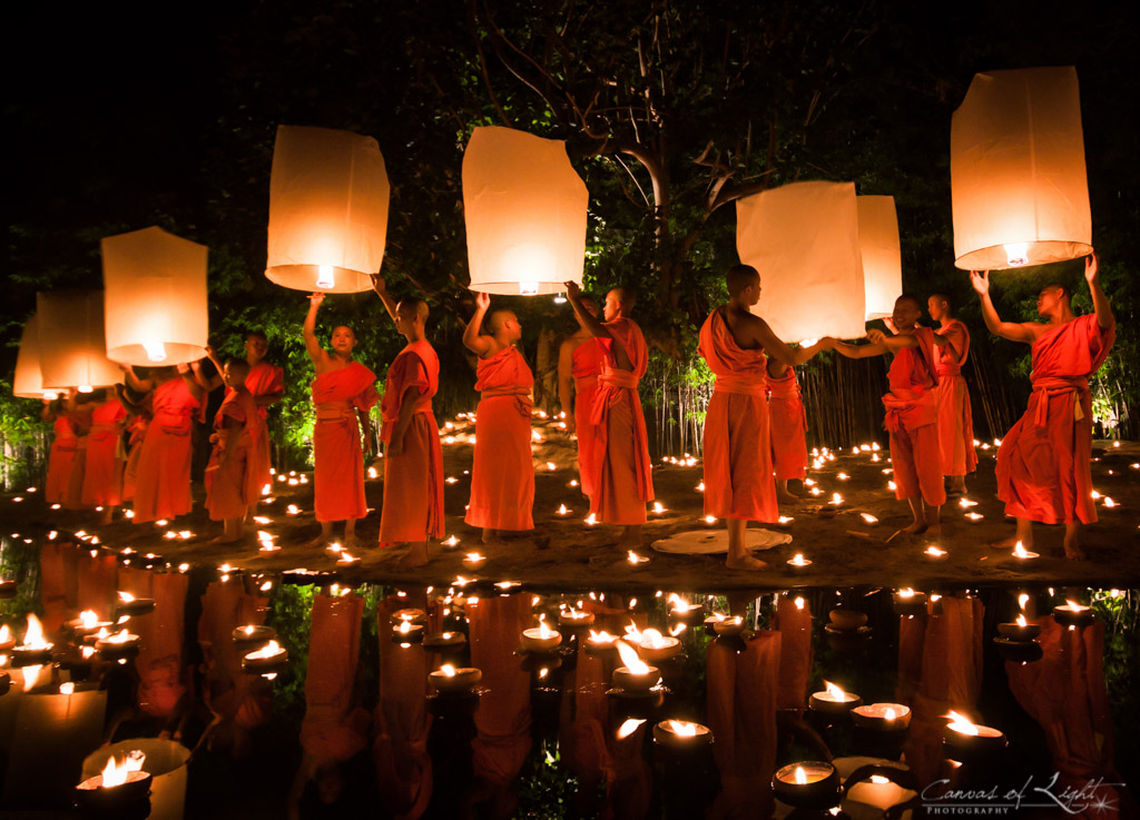 Yi Peng Festival Thailande