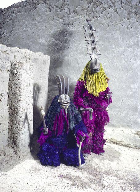 Ksam Masks by Jean-Claude Moschetti - Burkina Faso