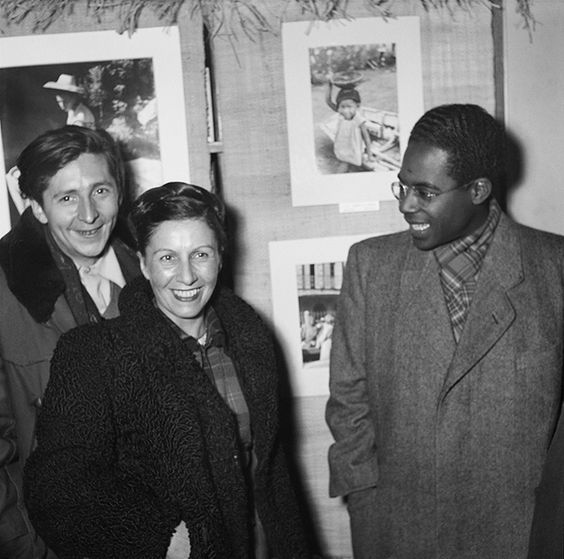 Denise Colomb x Aimé Césaire, 1949