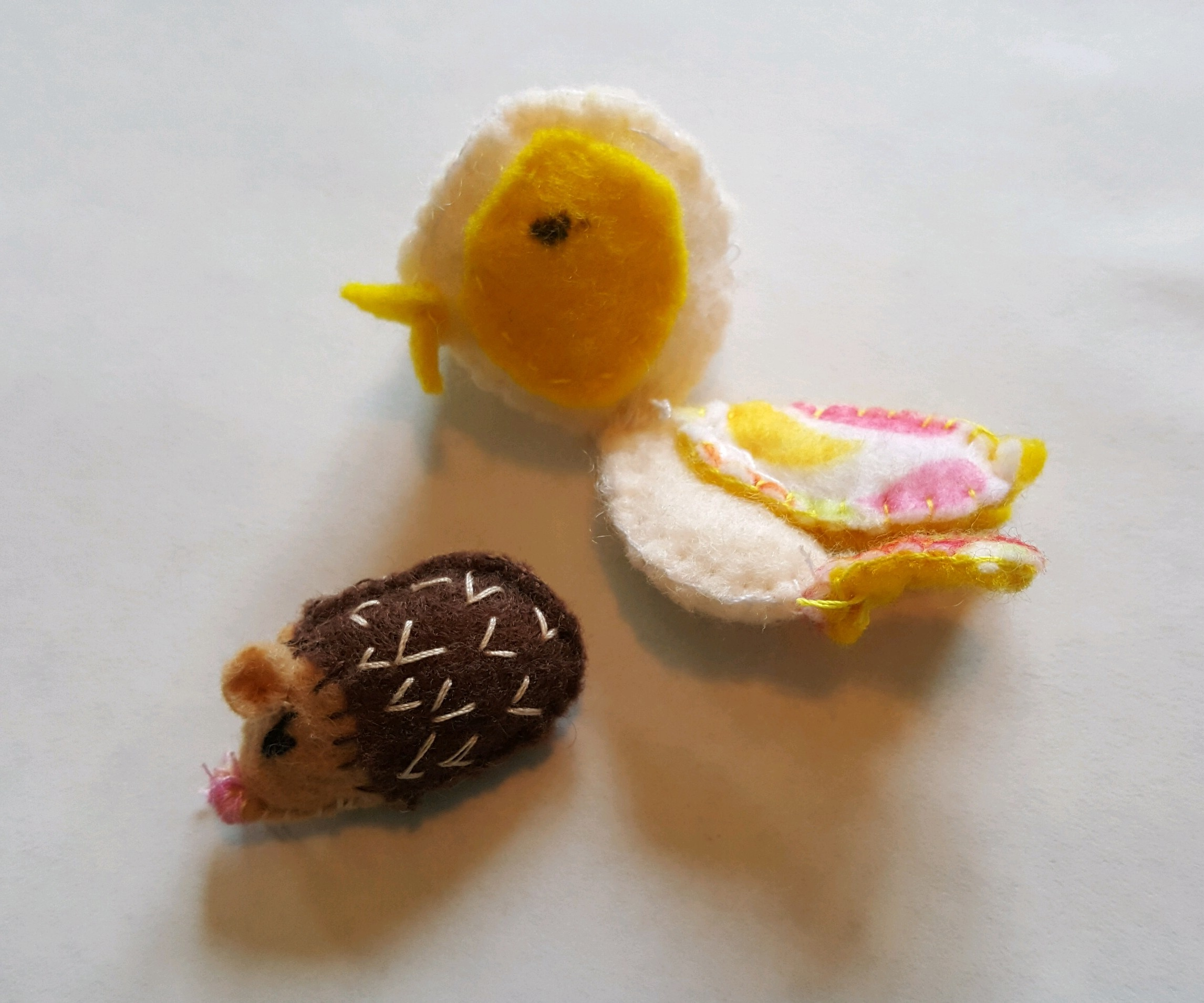 More unbelievable cuteness, handmade by Calista :)