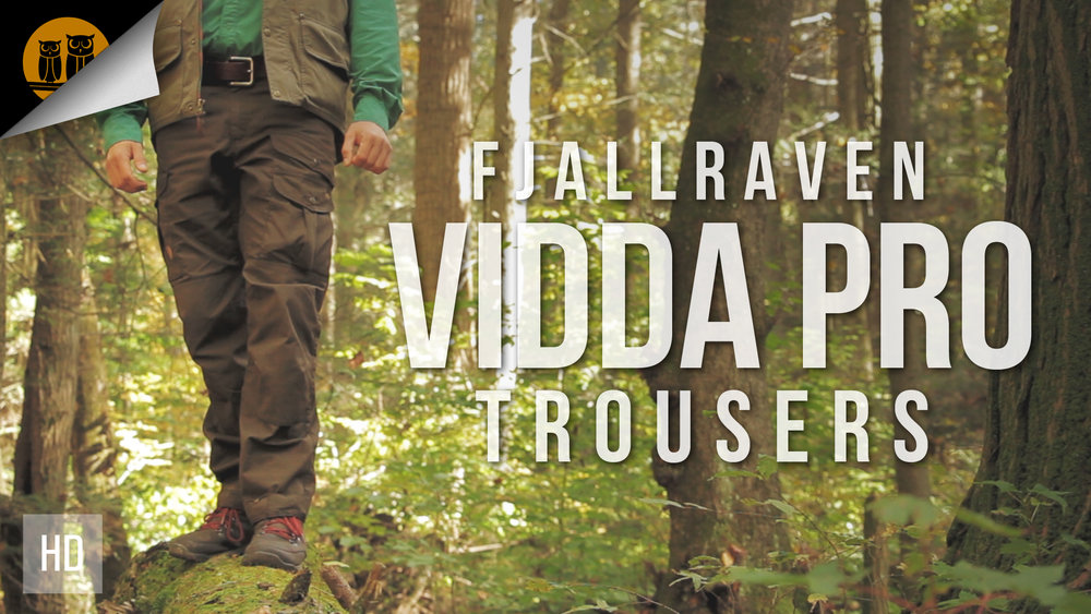 Fjällräven Vidda Pro Trousers — Black Owl Outdoors