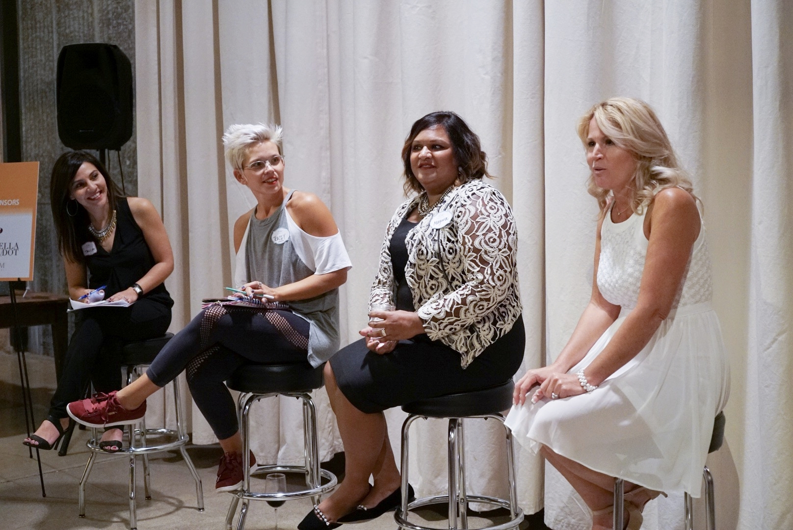 September 27, 2017 - WE MADE IT HAPPEN! THANK YOU TO THE WOMEN WHO ATTENDED AND PARTICIPATED: DR. WENDY BORLABI, TRACEY JANOWITZ, MAYURA KUMAR, DOLLY MCCARTTHY AND DEBBIE PICKUS.OUR SPONSORS ROCK: CHICAGO WOMAN MAGAZINE, STELLA & DOT, NERIUM AND CABI.