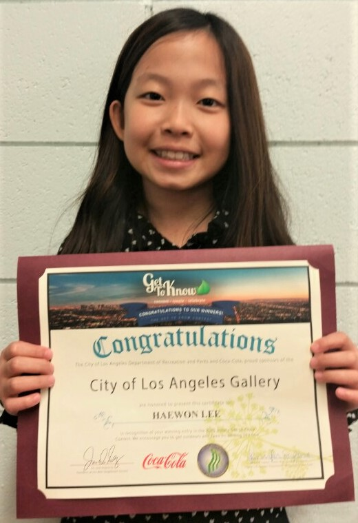 Haeny Lee, Winner of the Get to Know Art Contest