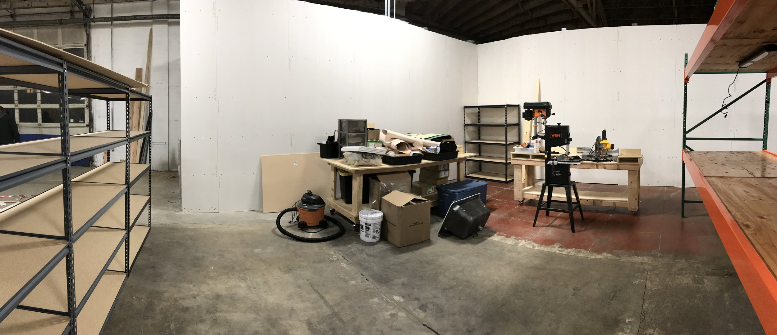 We're moved into ADX! Time to stock the shelves.