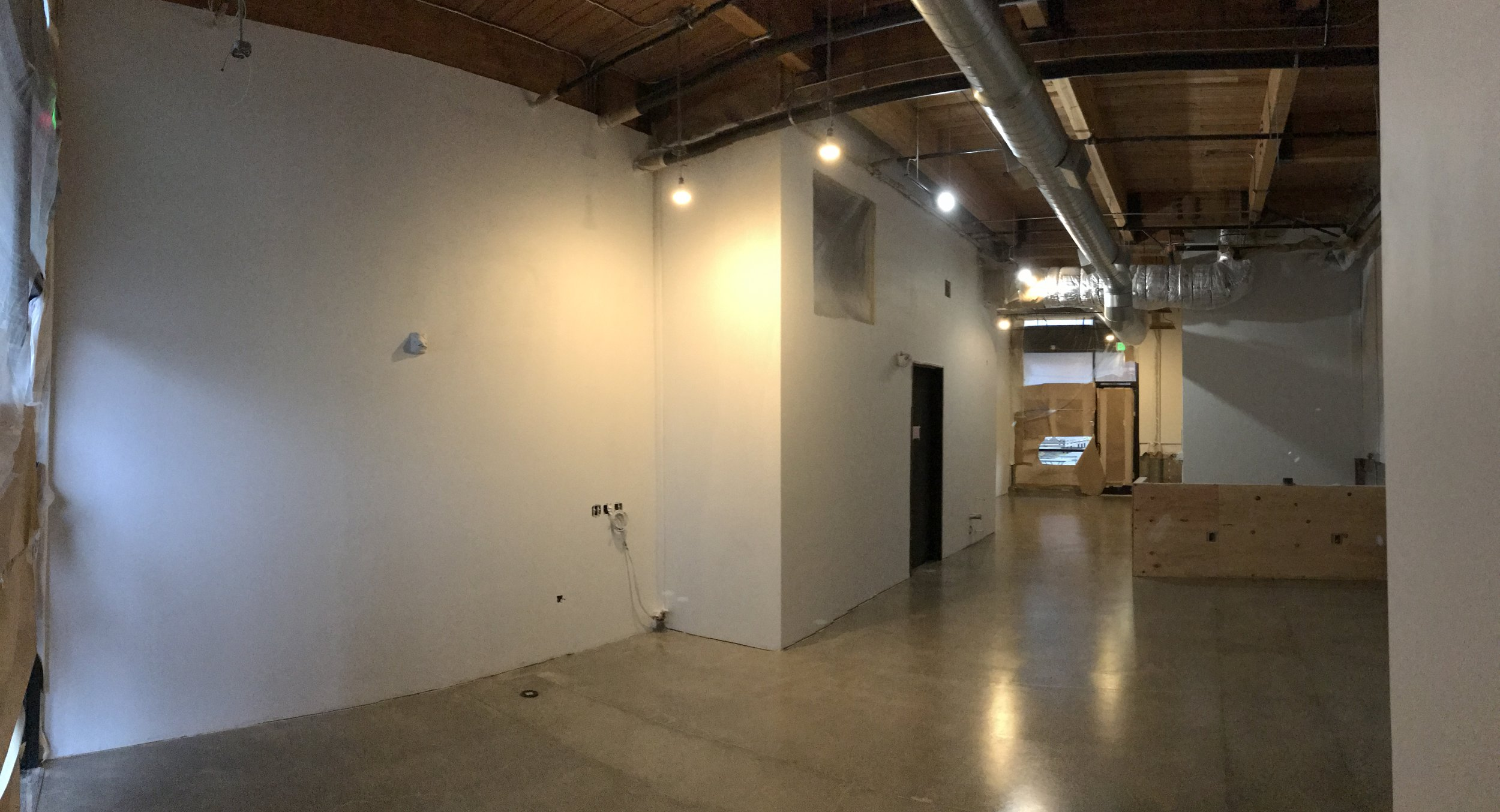 And now we have shiny floors!