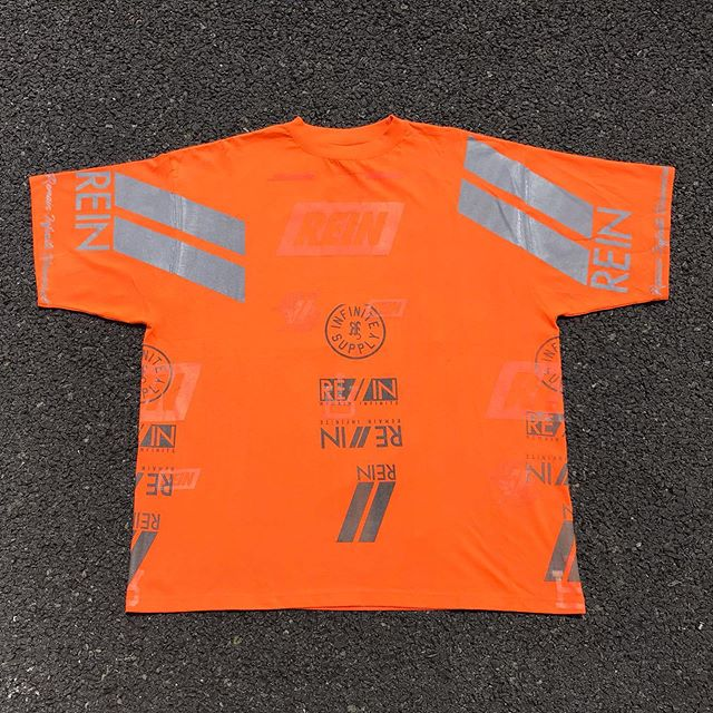 RE//IN 1 OF 1 Orange T-shirt. Now available in our website, Visit to purchase ✅