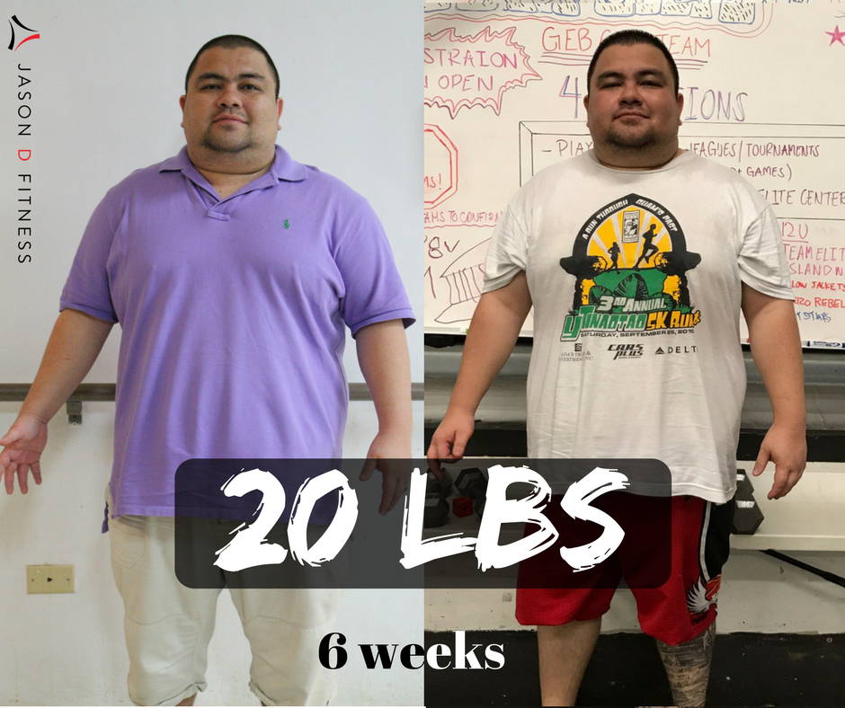 "Ken San Nicolas   ""I decided to change my life style because... I felt like I owed it to myself, my family and friends to be healthy.. This camp has helped me because... participating with many people with similar weight issues or goals and seeing them work hard makes me want to go and work hard. I hope to lose another 20 lbs before the year is over. My goal weight is another 60-75 pounds away from my current weight. There is no better day to start than today. Fitness is not about doing the most reps or lifting the heaviest weight or running the furthest -- its more about doing what you are capable of doing and always pushing your individual limit. Sometimes it will be hard or maybe you even gain wight, But you need to just accept that its ok to have small losses because if you stick to it you will eventually win the war.""  - Ken S.N"
