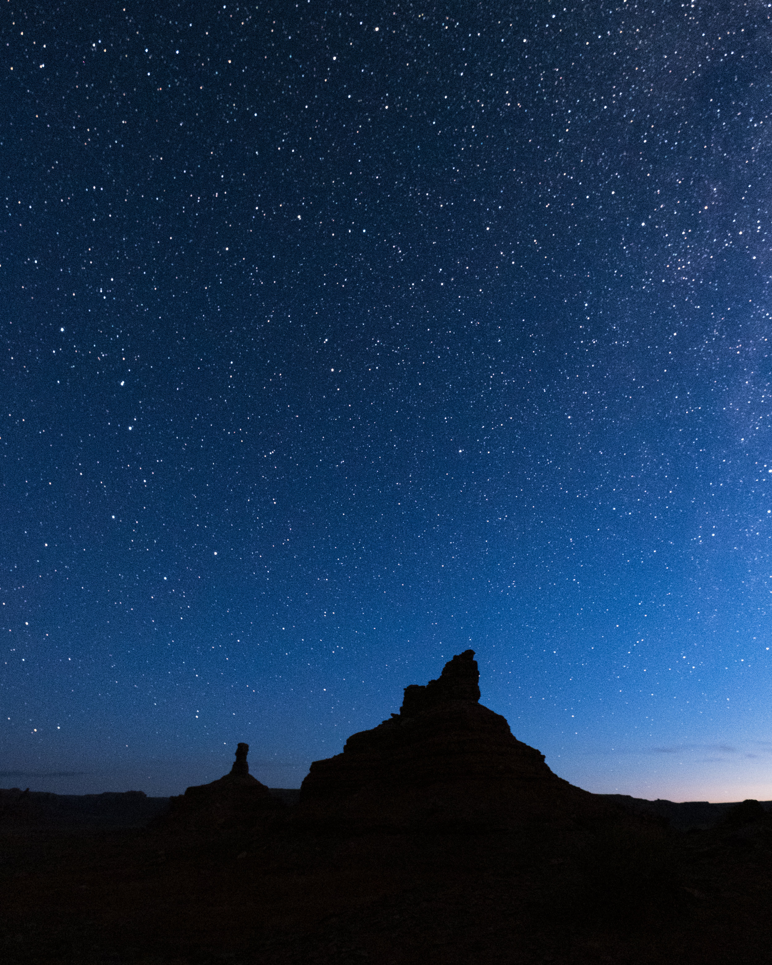 I woke up early to get a shot of Utah's night sky.