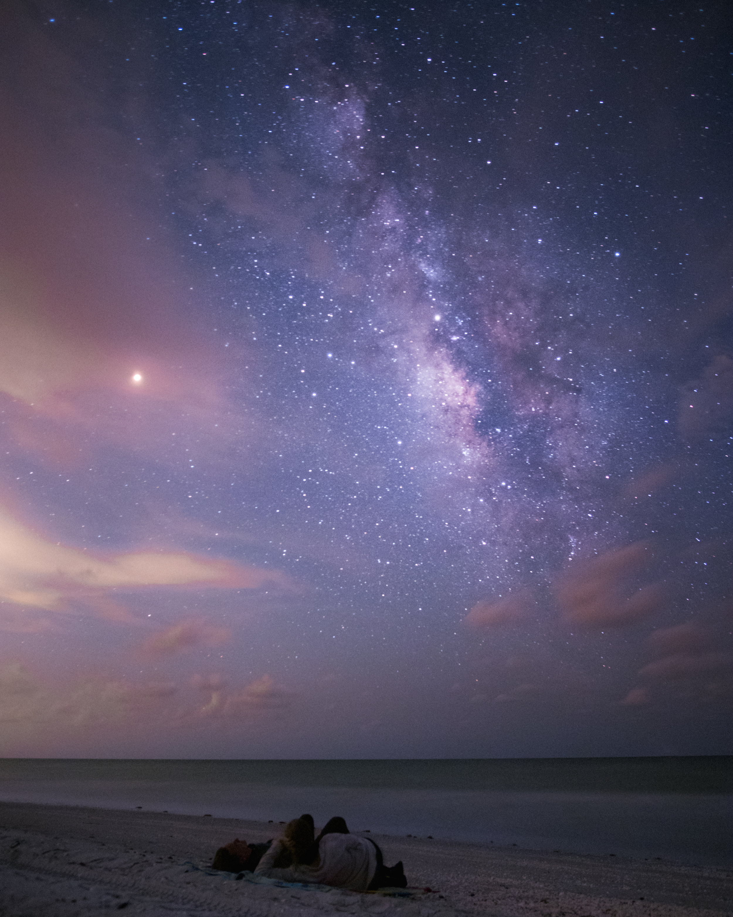 Catch a meteor shower at peak during the new moon and hope for clear skies!